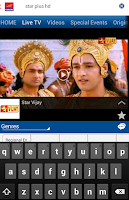 Screenshot of Aircel Popkorn TV - Live TV