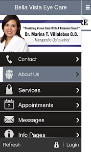 Bella Vista Eye Care - screenshot