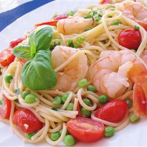 Gemelli with Shrimp and Sugar Snap Peas Recipe | Yummly
