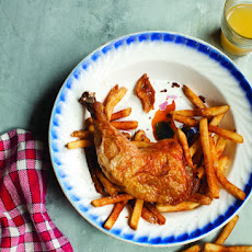 Poulet Frites (Roast Chicken with French Fries)