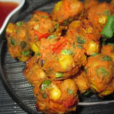 Curried Chickpea and Vegetable Balls
