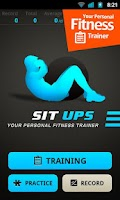 Screenshot of Sit Ups Workout
