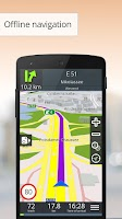 Screenshot of GPS Navigation BE-ON-ROAD