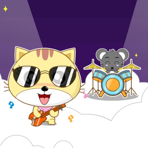 开心猫 动态壁纸 個人化 App LOGO-APP試玩