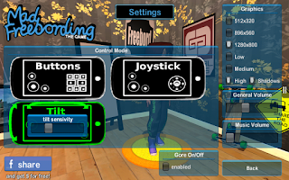 Screenshot of Mad Freebording Snowboarding F