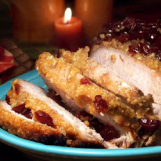 Dijon Pork Roast With Cranberries (Crock Pot)