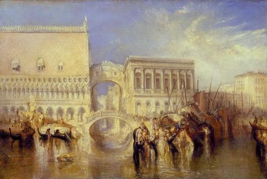 Turner Joseph, Venezia, ponte dei sospiri