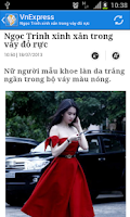 Screenshot of Viet News