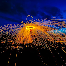 sparkling by Rizki Mahendra - Abstract Fire & Fireworks