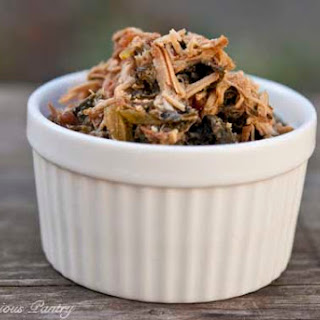 Clean Eating Slow Cooker Pork & Kale