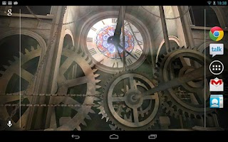 Screenshot of Clock Tower 3D Live Wallpaper
