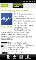 Screenshot of AndroidWelt Online