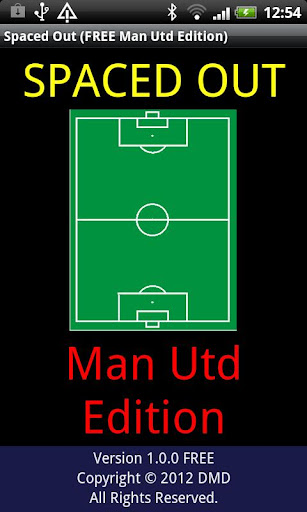 Spaced Out Man Utd FREE