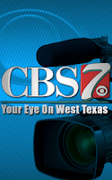Screenshot of CBS 7 News