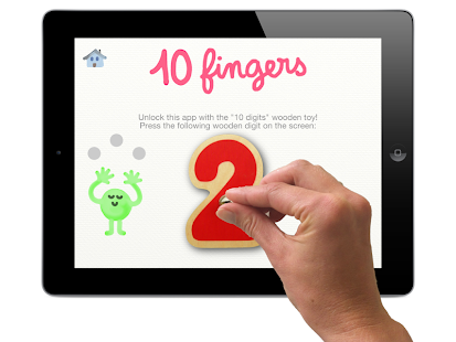 10 fingers for Smart Numbers - screenshot