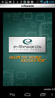 Screenshot of e-Rewards Mobile Plus