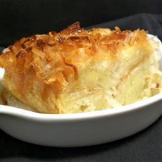 Coconut Bread Pudding