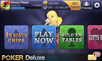 Screenshot of Texas HoldEm Poker Deluxe Pro