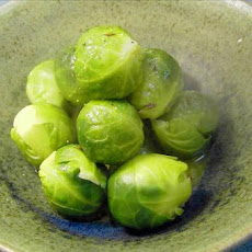 Brussels Sprouts with Butter and Caraway