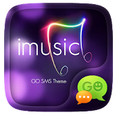 GO SMS IMUSIC THEME APK for Bluestacks