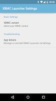 Screenshot of XBMC Launcher