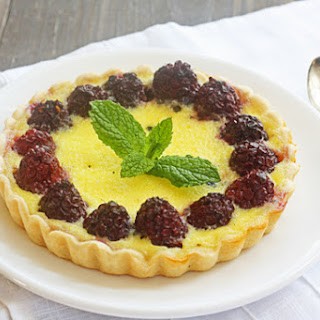 Quick & Easy Creamy Custard & Berry Tarts
