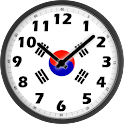 South Korea Clock icon