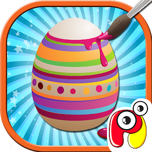 Cover art Easter egg painting– kids game