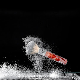 Make-up... by Sima Iulian - Artistic Objects Other Objects ( studio, splash, comercial, powder, make-up, jump )