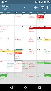 Free Download aCalendar - Android Calendar APK for Samsung