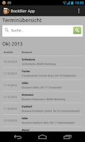 Screenshot of BockBier App