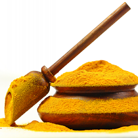 Spices - Turmeric by Dipali S - Food & Drink Ingredients ( cuisine, choice, diverse, appetizing, spice, powder, seasoning, colourful, ingredient, additives, diversity, healthful, indian, delicious, kitchen, curry, colours, tasty, color, herb, food, background, indian spices, healthy, freshness, turmeric )