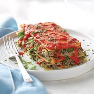 Tuna Salad Lasagna Stack