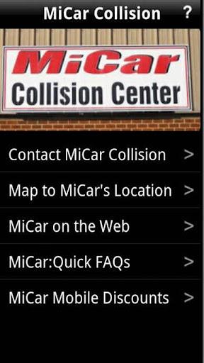MiCar Mobile APP