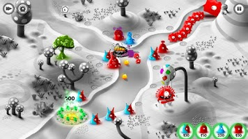 Screenshot of Jelly Defense