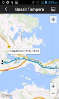 Screenshot of Bussit Tampere Reittiopas Pro