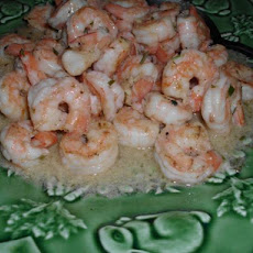 Pan Seared Shrimp With Garlic-Lemon Butter