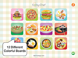 Screenshot of Baby Chef
