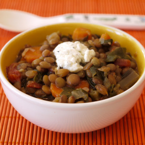 Crock Pot Lentil Veggie Stew