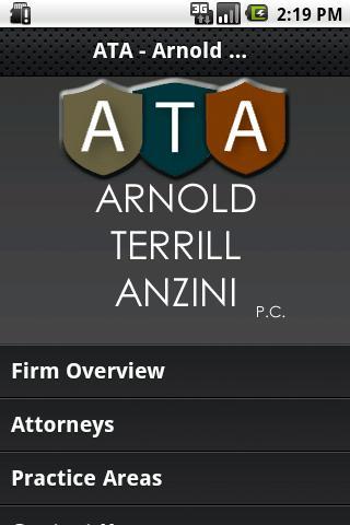 Arnold Terrill Anzini