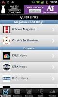 Screenshot of Houston Local News