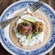 Kale and Black Bean Falafel Recipe