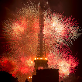 EFFEIL TOWER 14 JULY 2014 by Sivakumar Inc - Buildings & Architecture Statues & Monuments