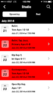 Focal Point Dance Studios - screenshot