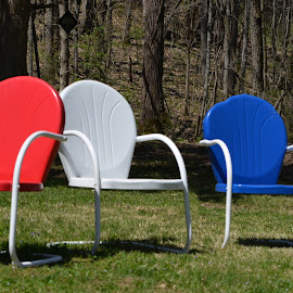 3 chairs by Jeff Sluder - Artistic Objects Furniture