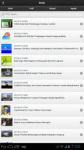 rri-mobile for android screenshot
