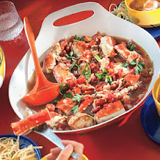Cioppino-Style Roasted Crab