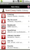 Screenshot of Scott County Public Library