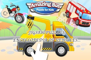 Screenshot of Kids Cars Jigsaw Puzzle Game