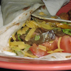 Curried Beef Fajitas (Low Carb)